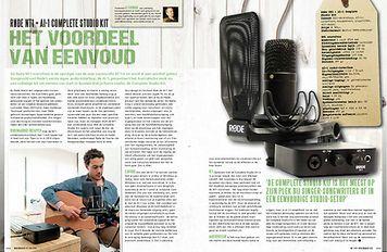 musicmaker.nl Røde NT1 en AI-1 complete studio kit