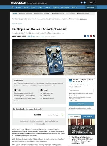 MusicRadar.com Earthquaker Devices Aqueduct
