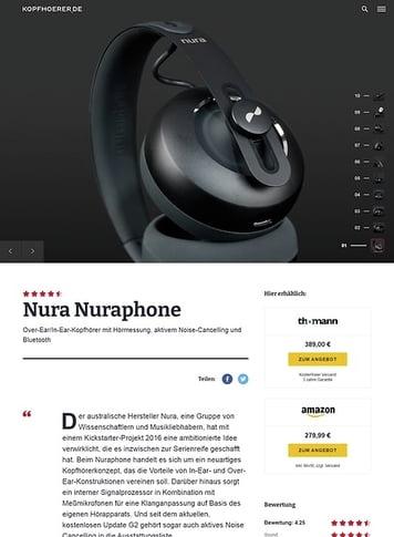Kopfhoerer.de Nura nuraphone