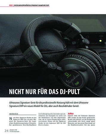 Professional Audio Ultrasone Signature DXP