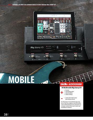 Professional Audio IK Multimedia iRig Stomp I/O