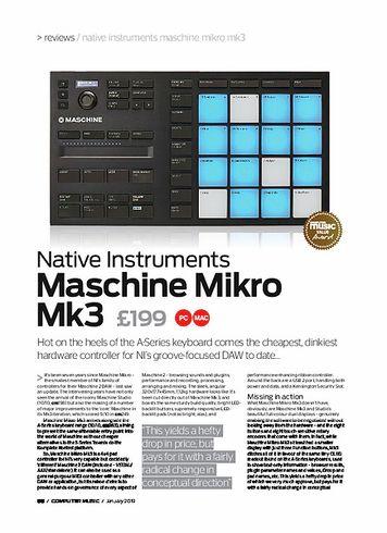 Computer Music Maschine Mikro M k3