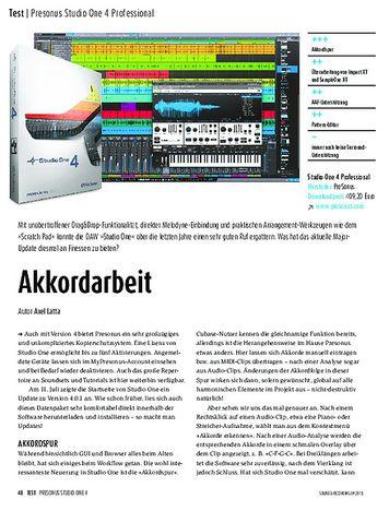 Sound & Recording Presonus Studio One 4 Professional