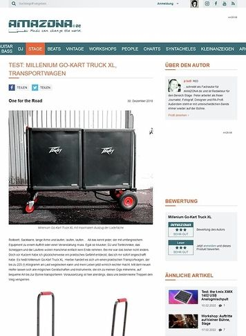 Amazona.de Millenium Go-Kart Truck XL