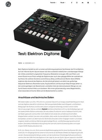 DJLAB Elektron Digitone