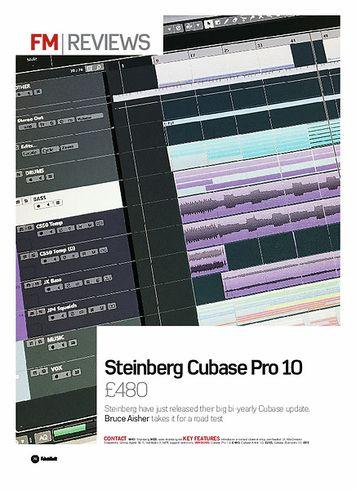 Future Music Steinberg Cubase Pro 10