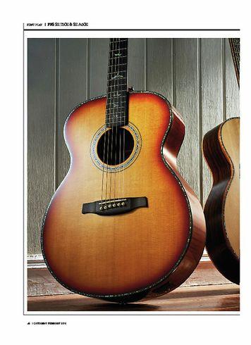 Guitarist PRS SE A60E