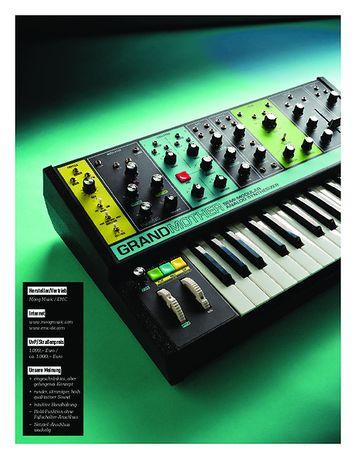 Keyboards MOOG GRANDMOTHER