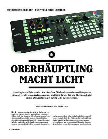 Keyboards EUROLITE COLOR CHIEF