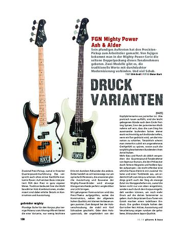 Gitarre & Bass FGN Mighty Power Ash & Alder
