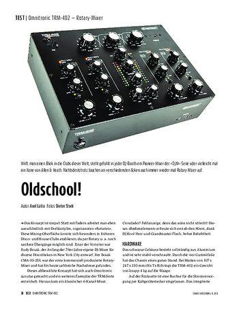 Sound & Recording Omnitronic TRM-402