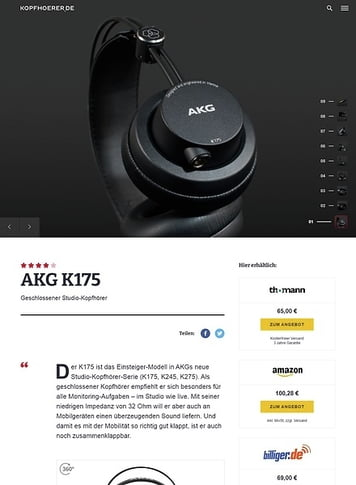 Kopfhoerer.de AKG K-175