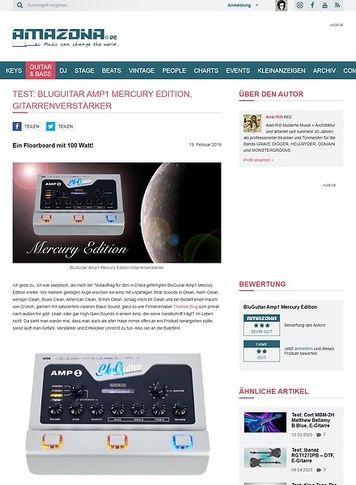 Amazona.de BluGuitar Amp1 Mercury Edition