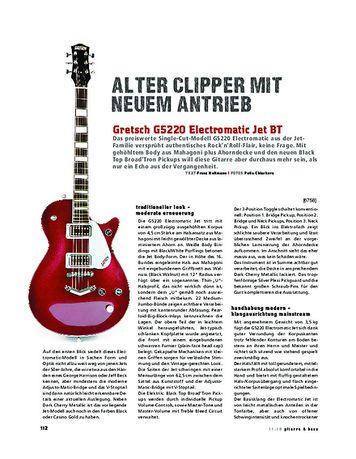 Gitarre & Bass Gretsch G5220 Electromatic Jet BT