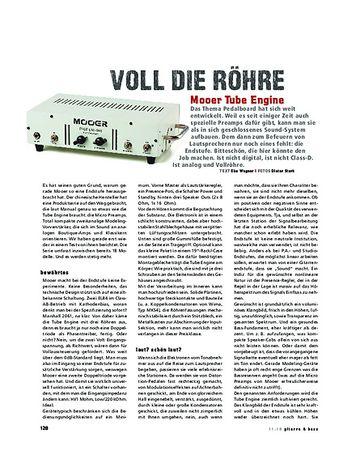 Gitarre & Bass Mooer Tube Engine