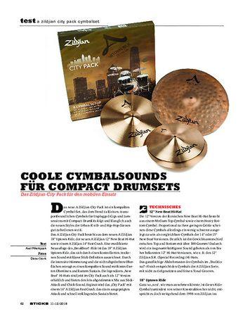 Sticks Zildjian City Pack Cymbalset