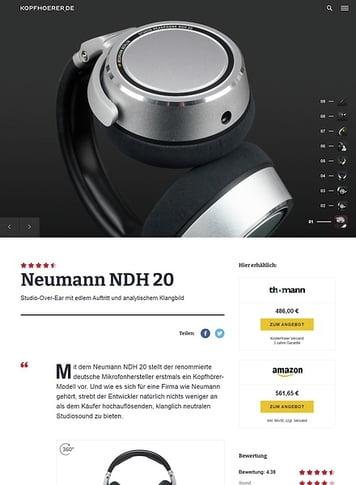 Kopfhoerer.de Neumann NDH 20