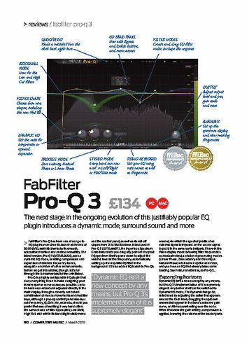Computer Music FabFilter Pro-Q 3