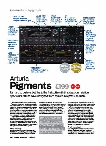 Computer Music Arturia Pigments