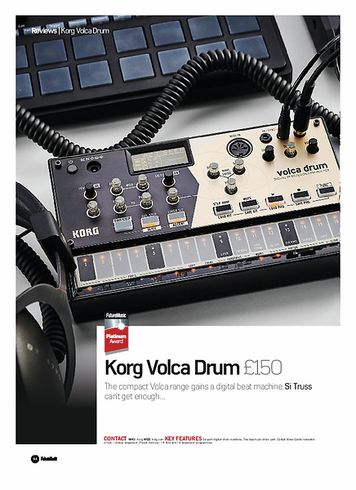 Future Music Korg Volca Drum