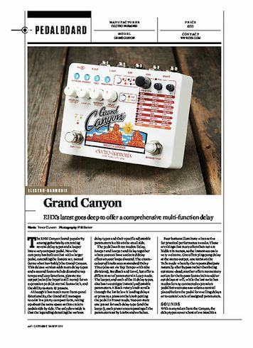 Guitarist Electro Harmonix Grand Canyon