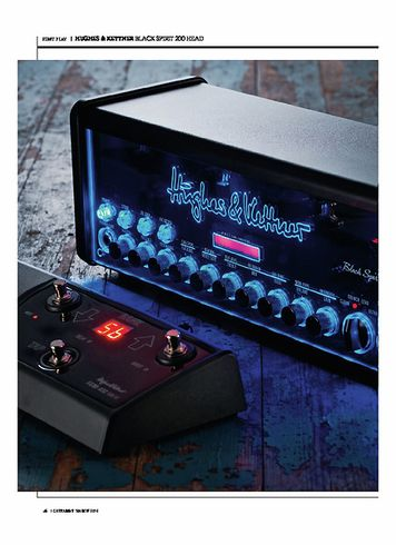 Guitarist Hughes&Kettner Black Spirit 200