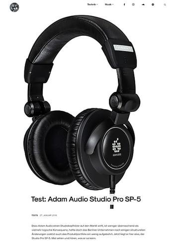 DJLAB Adam Audio Studio Pro SP-5