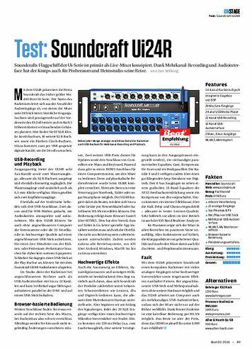 Beat Soundcraft Ui24R