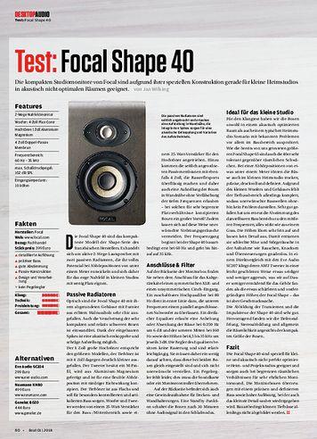 Beat Focal Shape 40