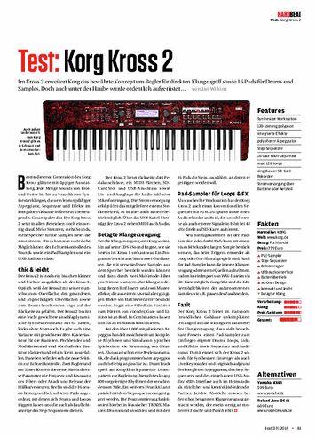 Beat Korg Kross 2