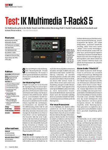Beat IK Multimedia T-RackS 5