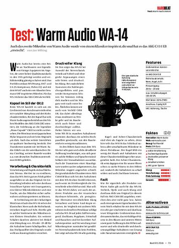Beat Warm Audio WA-14
