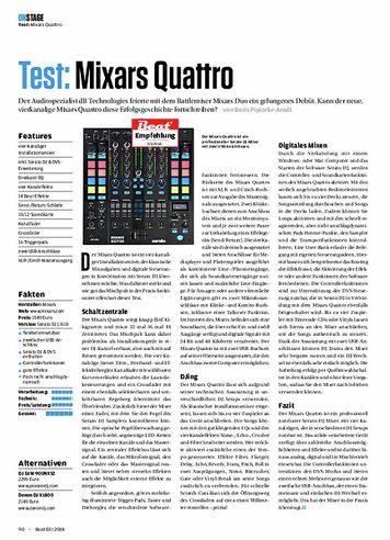 Beat Mixars Quattro