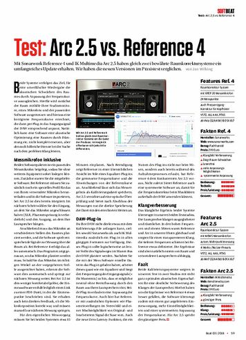 Beat Arc 2.5 vs. Reference 4