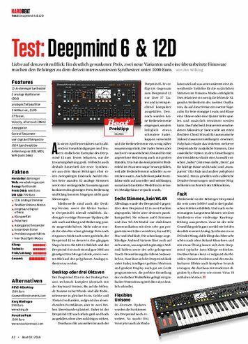 Beat Behringer Deepmind 6 & 12D
