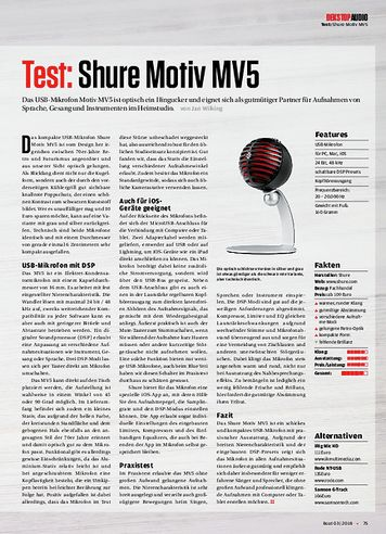 Beat Shure Motiv MV5