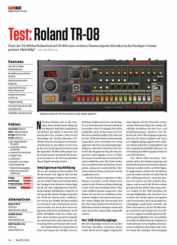 Beat Roland TR-08