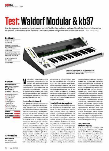 Beat Waldorf Modular & kb37