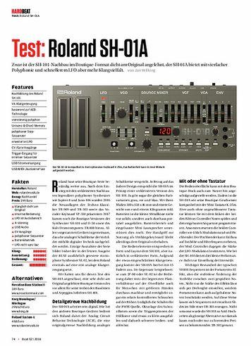 Beat Roland SH-01A