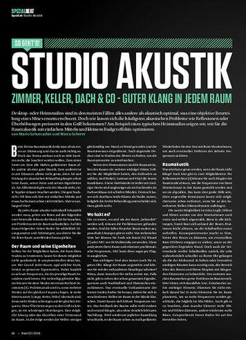 Beat Studio Akustik: Zimmer, Keller, Dach & co - Guter Klang in jedem Raum