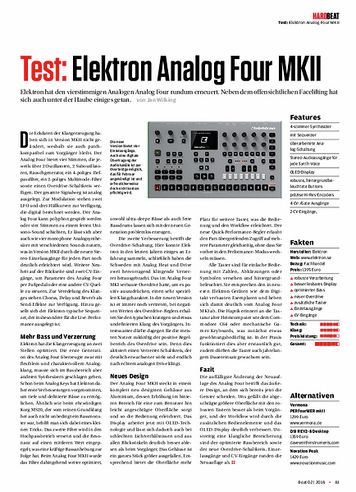 Beat Elektron Analog Four MKII