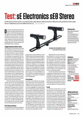 Beat sE Electronics sE8 Stereo