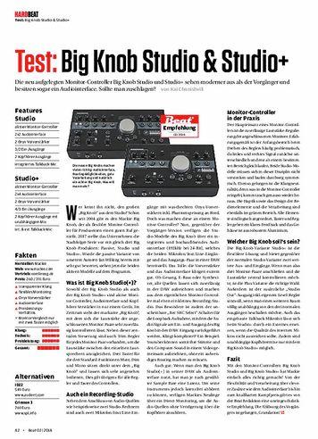 Beat Big Knob Studio & Studio+