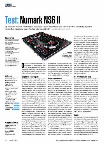 Beat Numark NS6 II