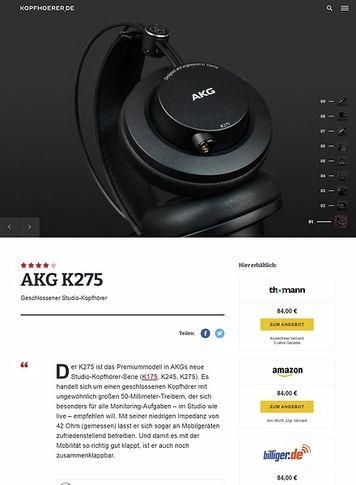 Kopfhoerer.de AKG K-275
