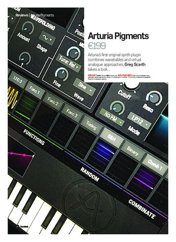 Future Music Arturia Pigments