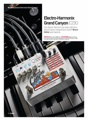 Future Music Electro-Harmonix Grand Canyon