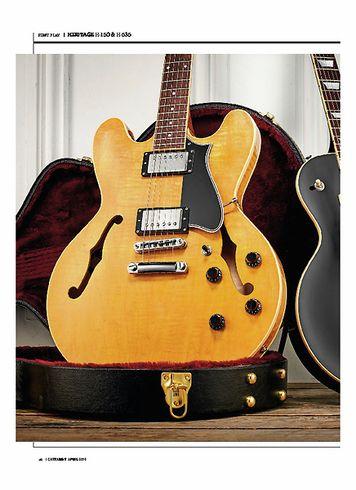 Guitarist Heritage H-535