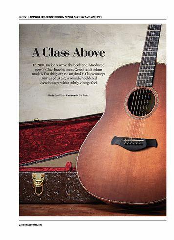 Guitarist Taylor Builders Edition 717e Grand Pacific