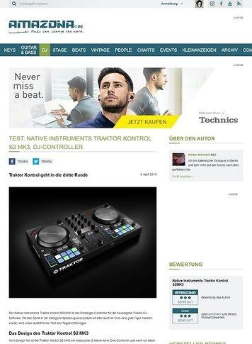 Amazona.de Native Instruments Traktor Kontrol S2 MK3